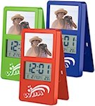 Clip It LCD Clocks